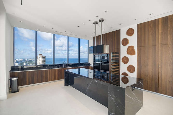 Half Floor Residence with Ocean and City views
